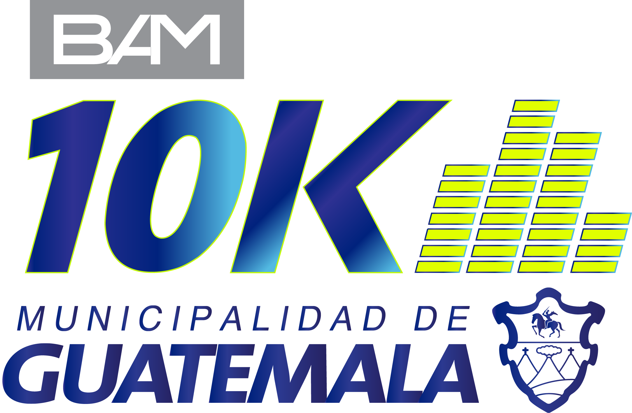 Logotipo carrer 10k muniguate